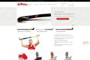 web design for sporting goods