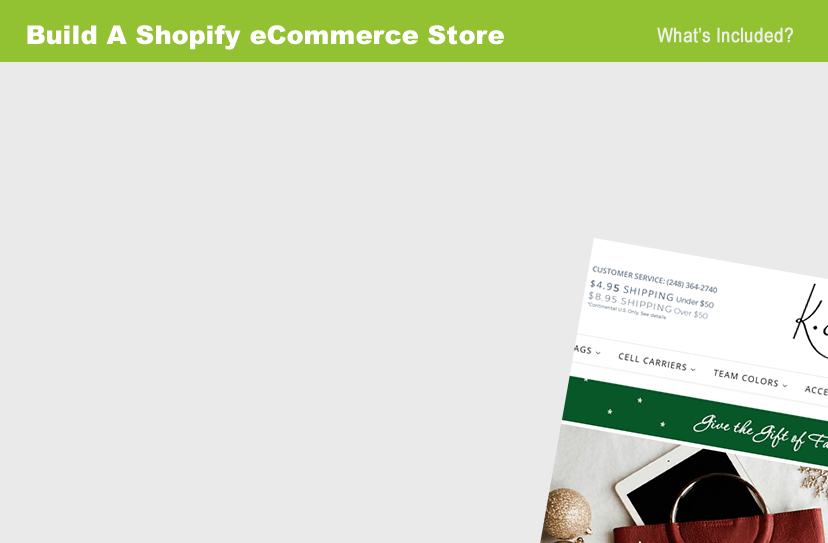 shopify store builds