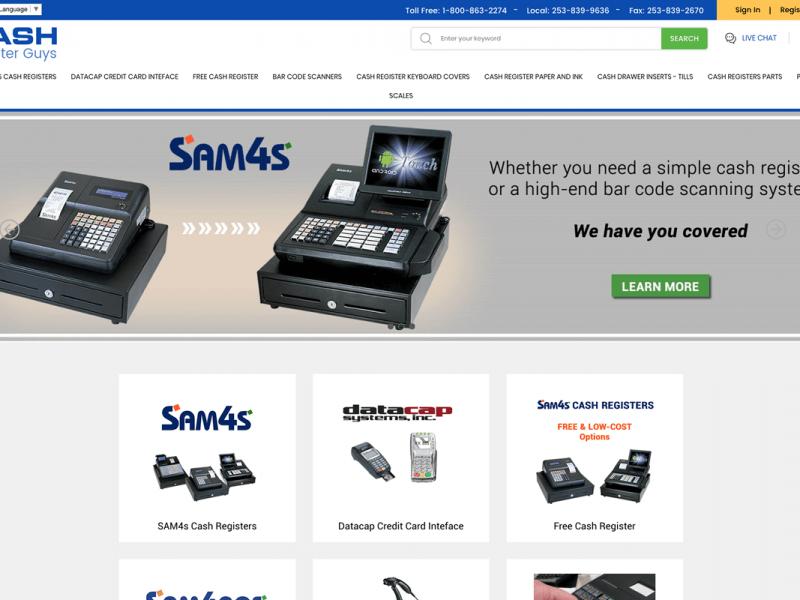 cash register guys