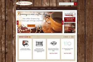 The Coffee Brewers Yahoo stores development