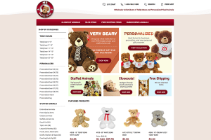 ms Teddy Bear yahoo store development