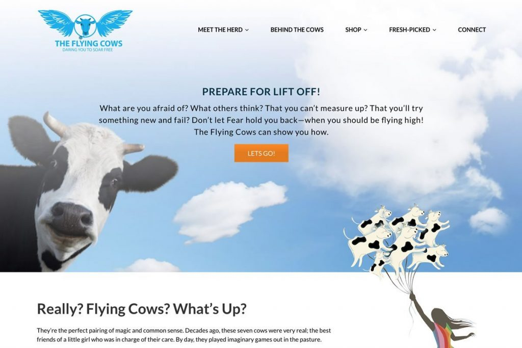 The Flying Cows